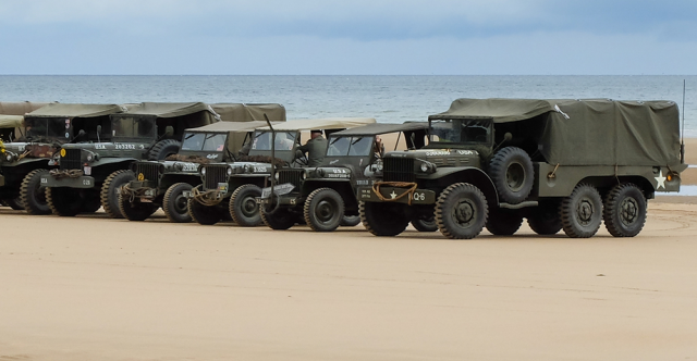 75 Years later: Vehicles Deployed On D-Day