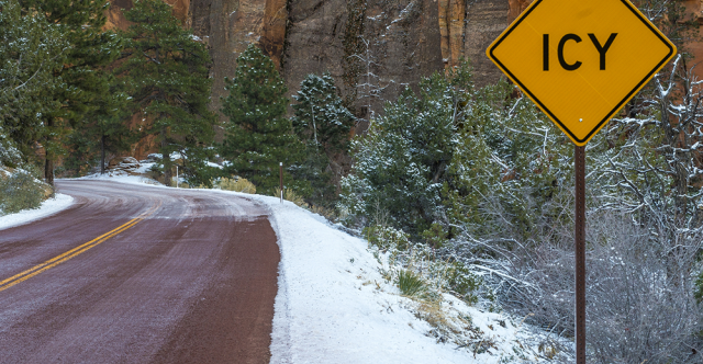 What To Remember If You Encounter Black Ice